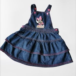 Minnie Mouse Overalls Dress